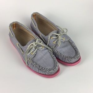 Sperry Top-siders for J. Crew 2 Eye Boat Shoes 8.5
